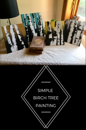 How To Create a Simple Birch Tree Painting