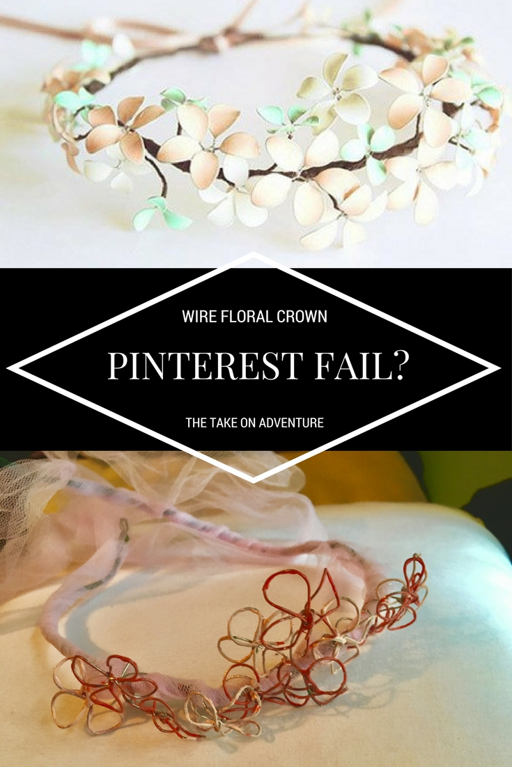 Wire floral crowns with nail polish a pinterest conundrum the wire floral crowns with nail polish a pinterest conundrum the take on adventure izmirmasajfo